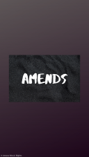 Qcofficial - Amends (Official audio) - Making it in a rough world!